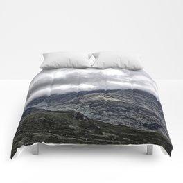 Glencoe in Scottish Highlands. Comforters