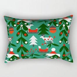 Christmas evergreens Rectangular Pillow