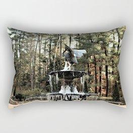 Winter's Lace Rectangular Pillow