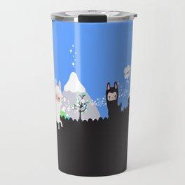 Run alpaca, run! Travel Mug