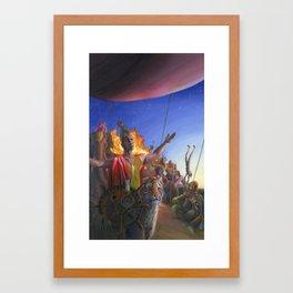 Absurdium Framed Art Print