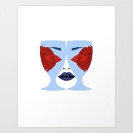 Fisheyes Art Print