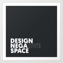 Design the Space Art Print