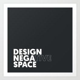 Design the Space Art Print