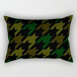 Camouflage Houndstooth/Dogtooth Rectangular Pillow