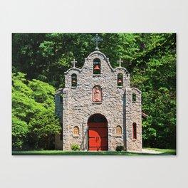 Lourdes University-  Portiuncula  Chapel in the Spring II Canvas Print