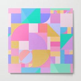 Colourful Bauhaus Metal Print