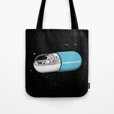 Space Capsule Tote Bag