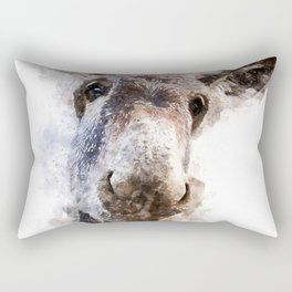 Donkey Rectangular Pillow