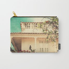 Colourful Summer Old House (Retro and Vintage Urban, architecture photography) Carry-All Pouch