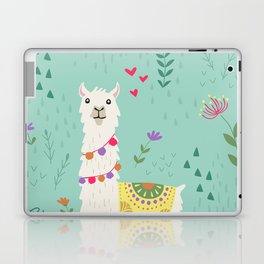 Festive Llama Laptop & iPad Skin
