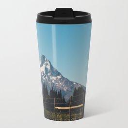 The Road to the Mountain Travel Mug