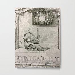 Sleepless Nights Metal Print