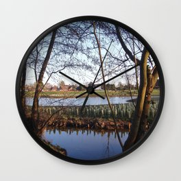 Reflections IV Wall Clock