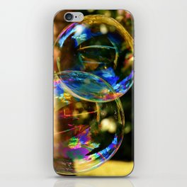Bubbles | Bulles iPhone Skin
