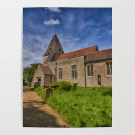 St Mary Hunton Poster