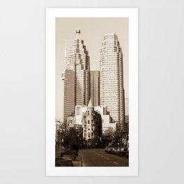 Toronto Flatiron Building Art Print
