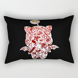 Moogleverse (red) Rectangular Pillow