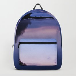 Tranquil blue nature Backpack