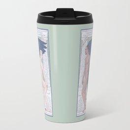 Hypnos and Thanatos (Sleep and Easeful Death) Travel Mug