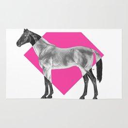 Horse Diamond Rug
