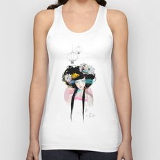 Nenufar Girl Unisex Tank Top
