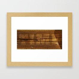 Good Times Wood Framed Art Print