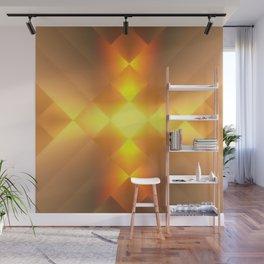 Gold Lamp Wall Mural