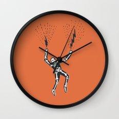 bolt hands Wall Clock