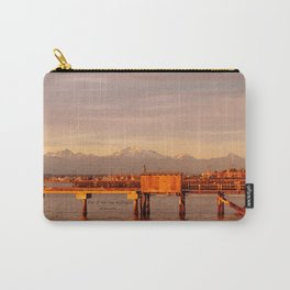 Pier Of Mukilteo, Washington Carry-All Pouch