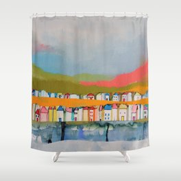 les iles Shower Curtain