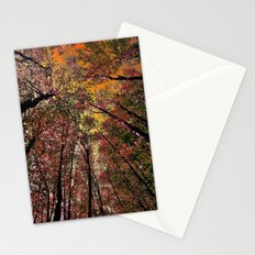 Colored forest Stationery Cards