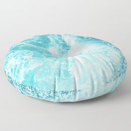 Perfect Sea Waves Floor Pillow