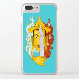 Buddhist deity Clear iPhone Case