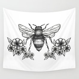 give me some sugar, little honey bee Wall Tapestry
