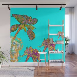 happy elefant Wall Mural