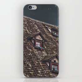 Roof of the Hotel oblique house Ulm iPhone Skin
