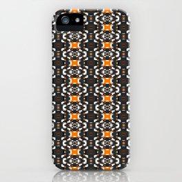 Glitch Pattern 3 iPhone Case