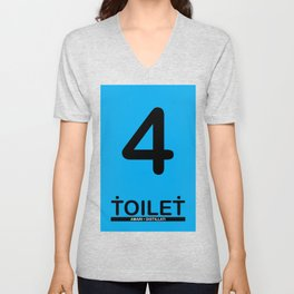 TOILET CLUB #4 Unisex V-Neck
