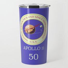 Apollo 11 50th Anniversary Travel Mug