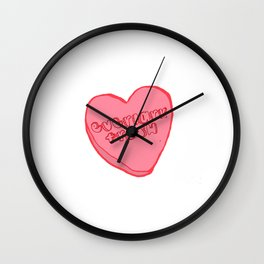 odesta trash Wall Clock