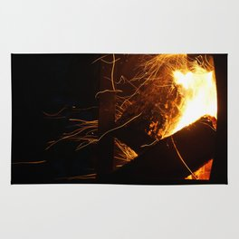 The Fire Dance Rug