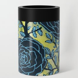 Black and Blue Can Cooler