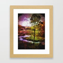 Nature Bubbles Framed Art Print