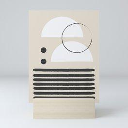 Abstract Modern Art Mini Art Print