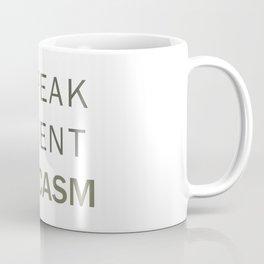 Fluent Sarcasm Coffee Mug