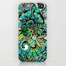 Tropical Illusion iPhone Case