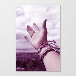 Let us go then, you and I Canvas Print