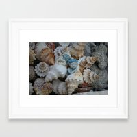 pixies Framed Art Prints featuring Sea pixies by Tracey Burgun