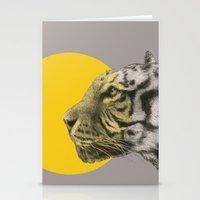 eric fan Stationery Cards featuring Wild 4 by Eric Fan & Garima Dhawan by Garima Dhawan